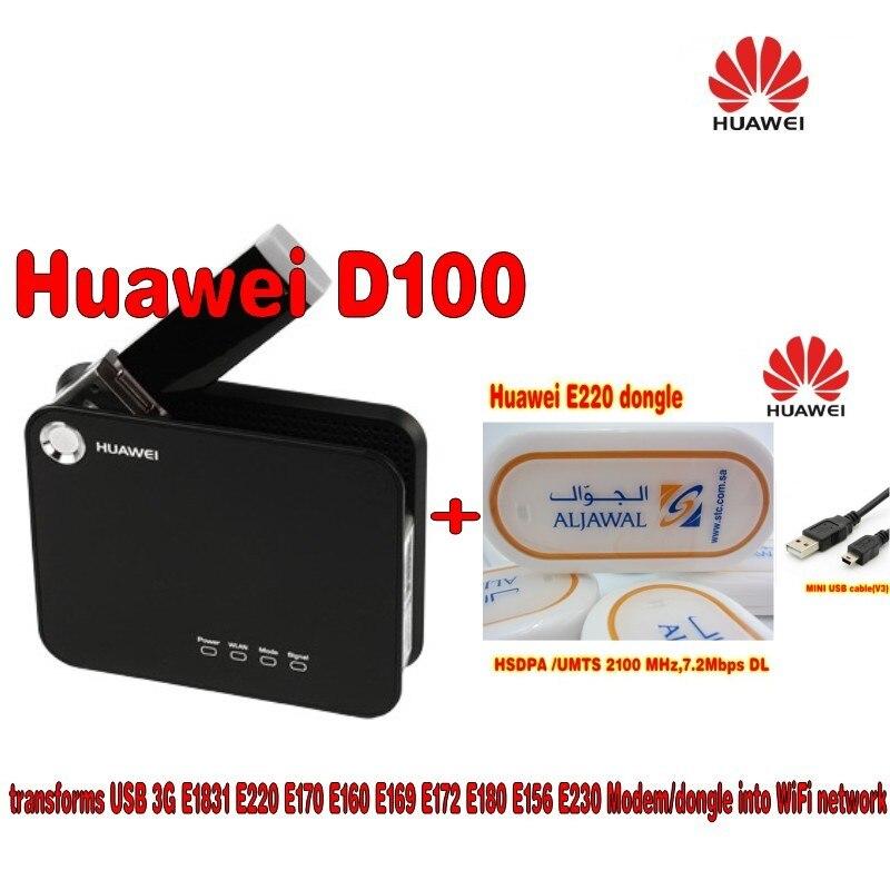 Huawei D100 3G WIFI Router+