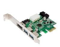 Перезарядка eSATA eSATAp II и USB 3 0 USB 3 0 к PCI-E PCI Express Card с материнской платой 20 pin разъем