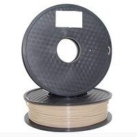 Флексированная нить для 3D принтера PEEK, 1,75 мм нить для 3d печати, термостойкая нить, прочная, натуральный цвет, 1 кг катушка