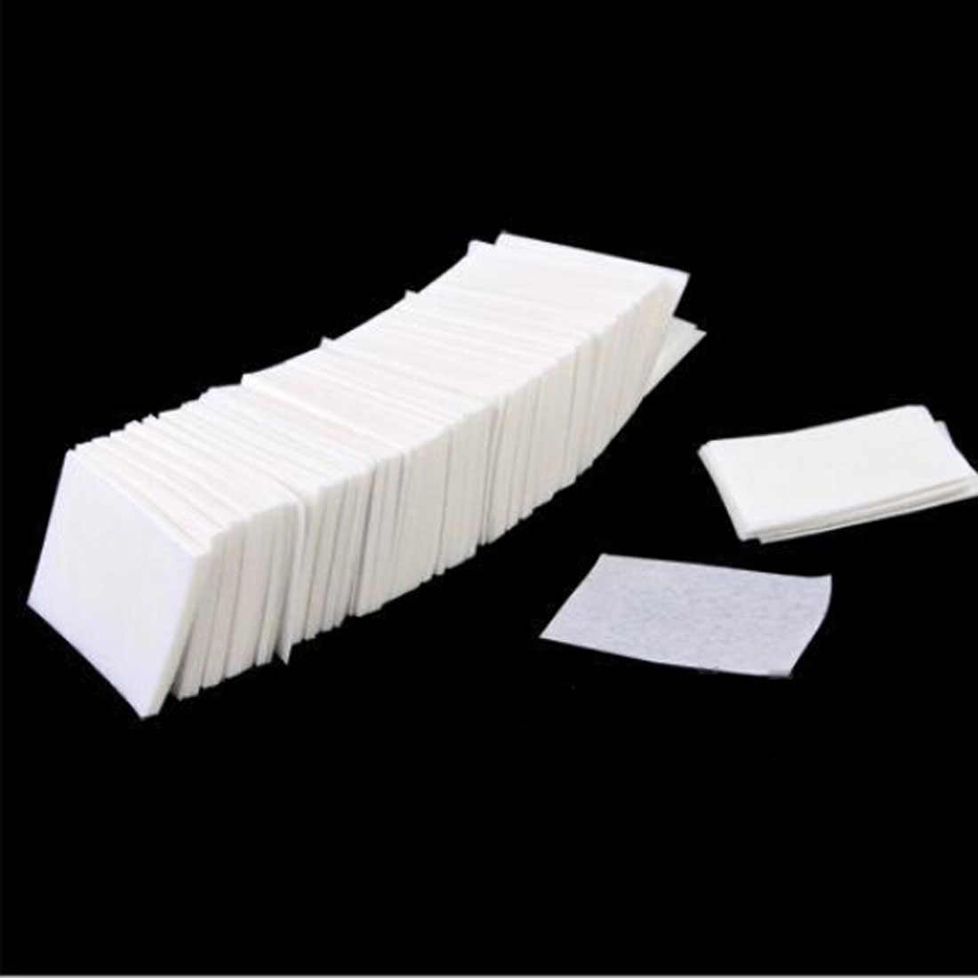 Hot Sale 400pcs/set Nail Art Wipes Manicure Polish Wipes Cotton Lint Cotton Pads Paper Acrylic Gel Tips
