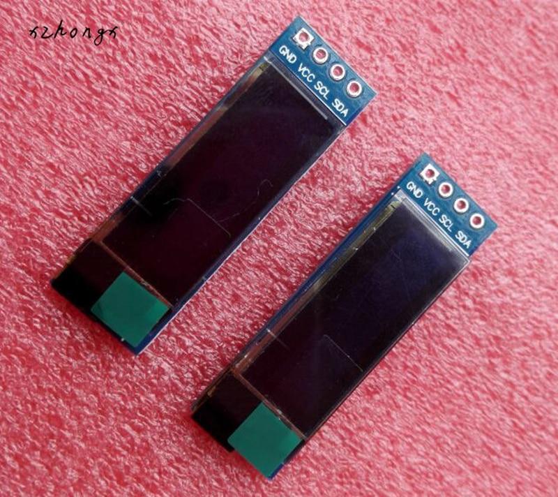 128x32 I2C IIC Serial Blue OLED LCD Display Module 0.91 12832 SSD1306 LCD Screen for Arduino