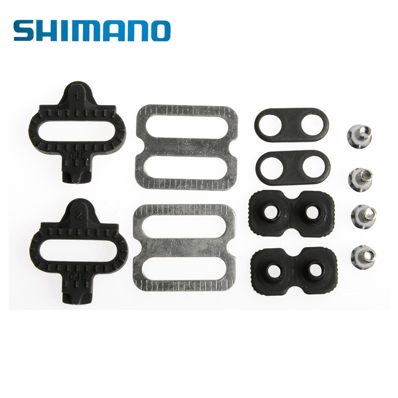 SHIMANO Bicycle Accessories Bike Cleats Set For Shimano MTB SPD Pedals PD-M520 M540 M324 M545 M424 M647 M959 Bicycle Replacement цена