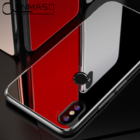 Mi Mix 2s Case For Xiaomi Mi Mix 2s Case Luxury Plating Tempered Glass Soft Silicon