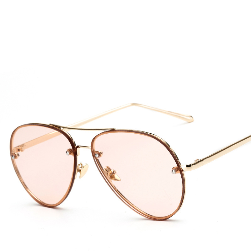 26c820b26 Trendy ggLuxury Sunglasses Women Brand Designer Female Rose Gold Famous  Mirror Sun glasses Ladies Eyewear Oculos De Sol Feminino