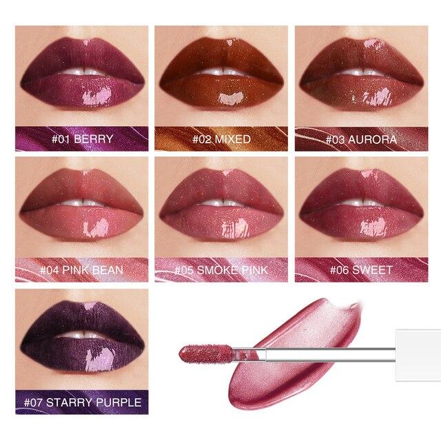 O.TWO.O Mirror Glass Lip Gloss Moisturizing Light Gel No Sticky Shimmer Lipstick Liquid Makeup 7 Color Lipgloss maquiagem 1