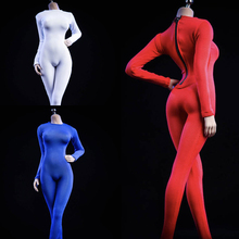 19xg37-Tights Clothing Body-Action-Figures Large Bust Black Female Sexy for 12-1/6 Red