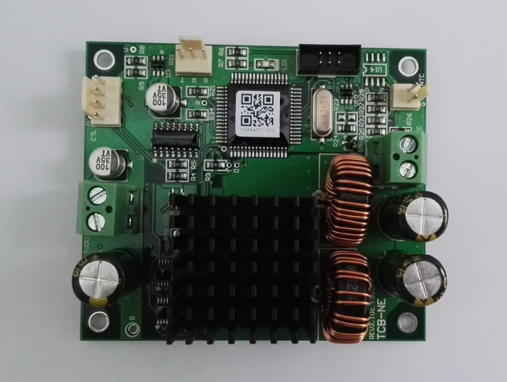 Semiconductor Refrigeration Chip Temperature Control Board, TEC Temperature Controller, Accuracy 0.01, High Power, NTC/PT100 NE