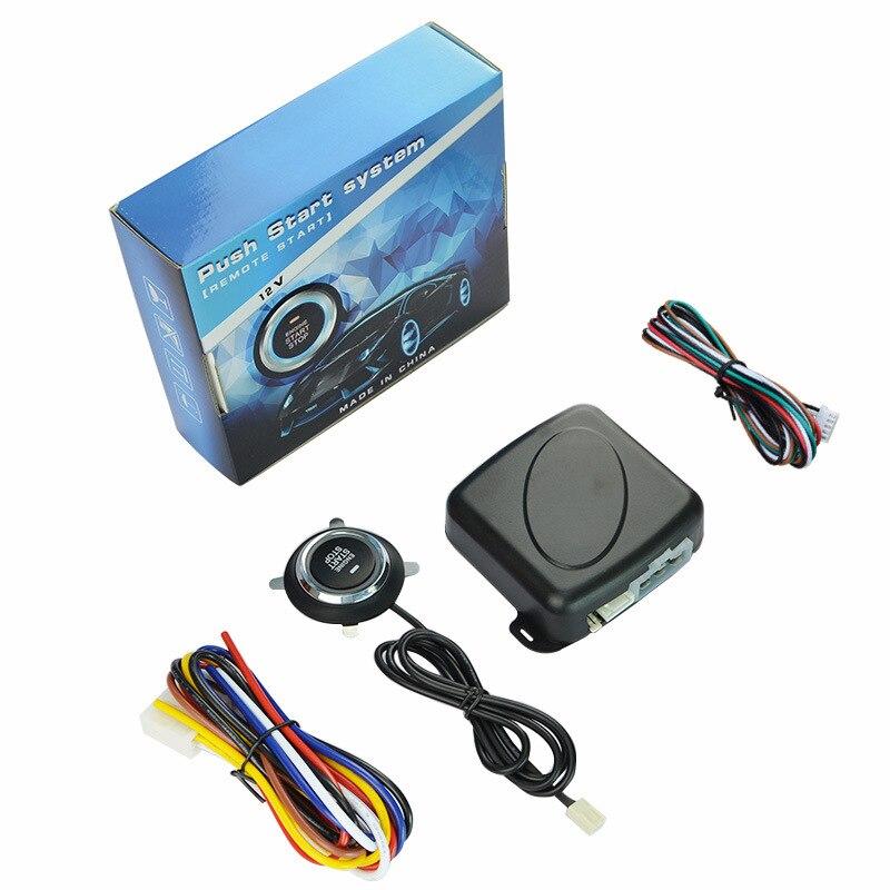 Voiture télécommande démarrage à distance préchauffage modification un bouton système de démarrage voiture van universel type voiture alarme verrouillage central