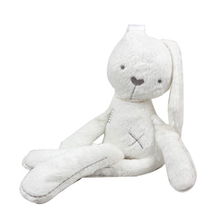 52cm Christmas Gift Plush Baby Educational Toys Obediently rabbit Doll to appease sleep with massage beans