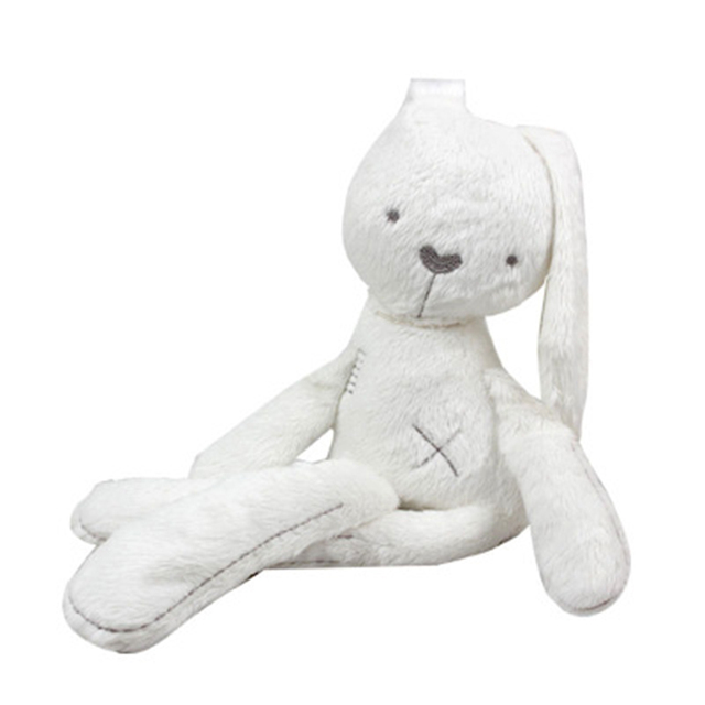 52cm Christmas Gift Plush Baby Educational Toys Obediently rabbit Doll to appease sleep with massage beans Funny Soft Toy