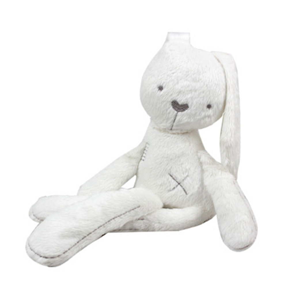 52cm Christmas Gift Plush Baby Educational font b Toys b font Obediently rabbit Doll to appease