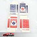 Free shipping 10 pcs/lot Bicycle Card Box ( Red & Blue Available) - Card Trick,Fun Magic,Accessories,Party Trick,Gimmick