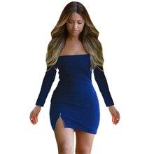 Yeni Sonbahar Hanım Elbise Fermuar Kapalı Omuz Uzun Kollu Elbiseler Seksi Bodycon Mini Elbiseler 5774 Y8664