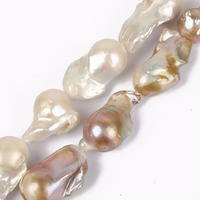 Fashion classic 14 28mm south sea natural baroque pearl necklace For Women Girl freshwater pearl necklace jewelry making