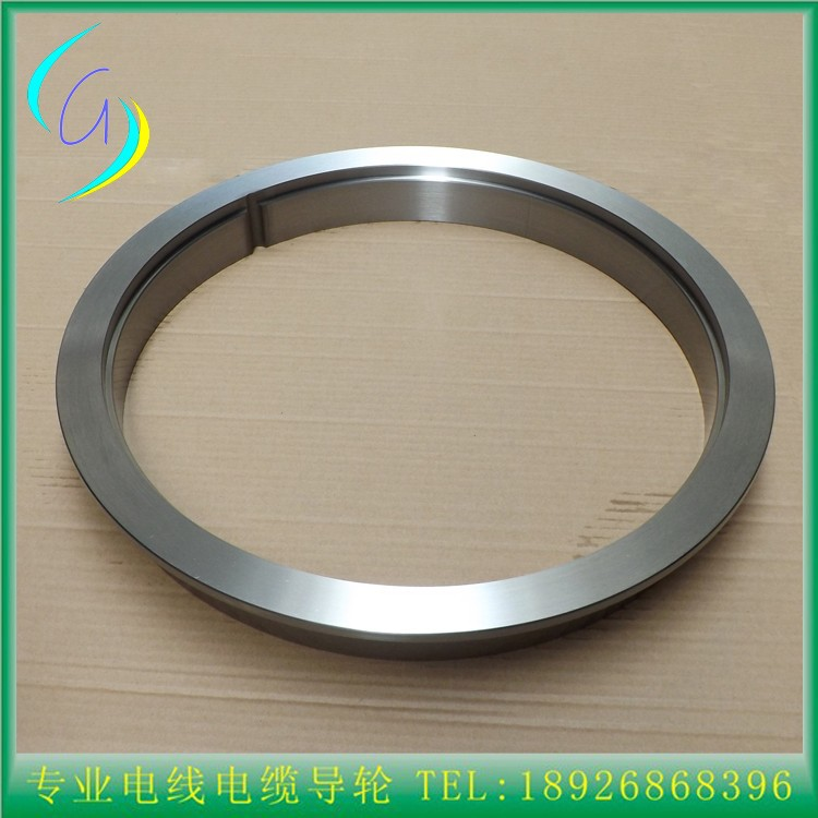 Customize Tungsten Carbide Coated Steel Ring   Large Wire Diameter Drawing Excellent Wear Resistance  Steel Ring   Keyway Fixed tungsten carbide steel ring with wire drawing application