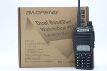 BaoFeng UV-82HX рации CB рация Baofeng УФ-82 Серии Трансивер 128CH 8 Вт УКВ и УВЧ Портативных УФ 82 охота Радио