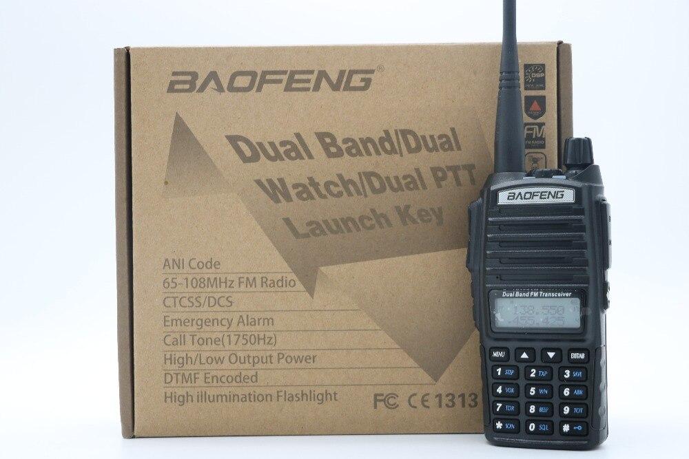 imágenes para UV-82HX BaoFeng Walkie Talkie 128CH Baofeng UV-82 CB Radio Transceptor Serie 8 W VHF y UHF de Mano UV 82 Para caza de Radio