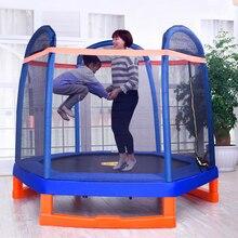 7 футов весна батут кровать прыгать с безопасностью сети, 2,2 метра батут