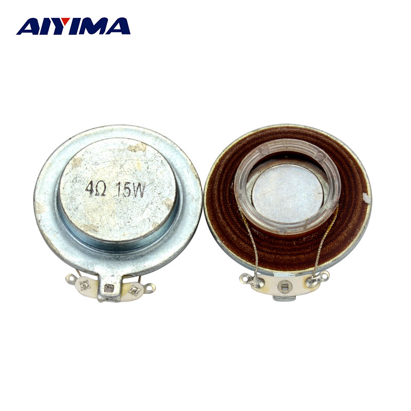 AIYIMA 2 unids Altavoces de Audio 35 / 44mm Avión Vibración Altavoz - Audio y video portátil - foto 1