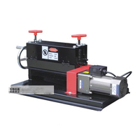 1pc B801 3 Porous peeling machine Hand Electric Dual use scrap wire and cable Stripping/skinning machine Wire Stripper