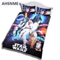 AHSNME Cubierta Del Edredón Funda de Almohada King Size 3 unids Australia Tamaño Aavailable Literie de Star Wars 3D Cubierta de La Cama ropa de Cama conjunto Funda Nórdica