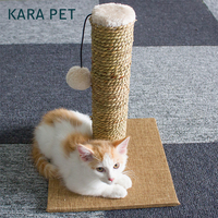 Natural Seaweed Cat Scratcher Tree Climbing Toys Scratching Post Claws Pet Furniture for Cats