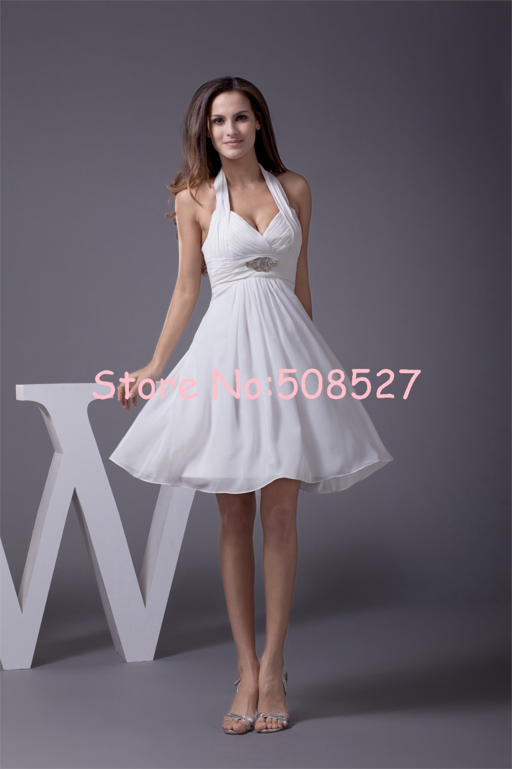 Compare Prices On White Dama Dresses Online Shopping Buy