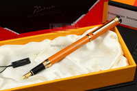 Stationery Picasso Pen Brand Picasso 908 Fountain Pen Iraurita Metal Red/Black/Orange 0.5mm Students Gifts Pen Wholesales