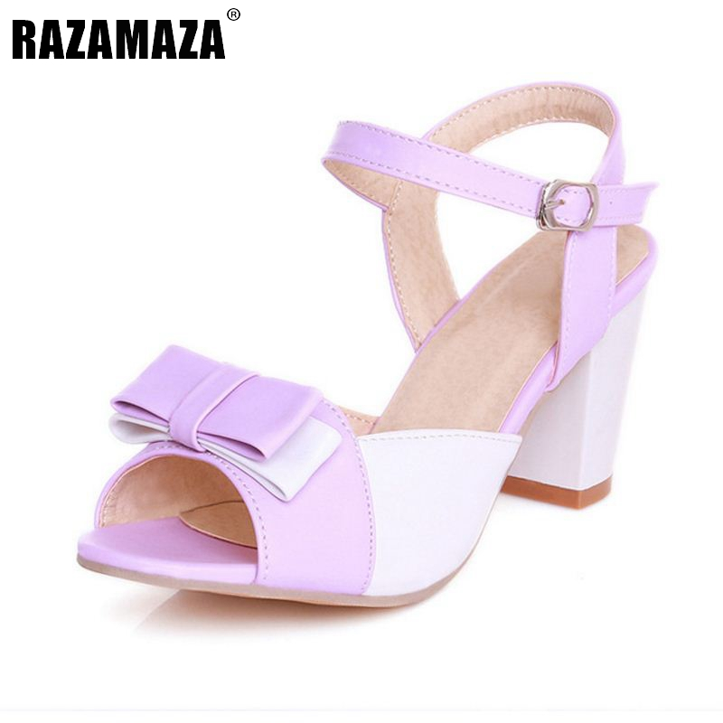 size 32 47 high heel sandals shoes mixed color