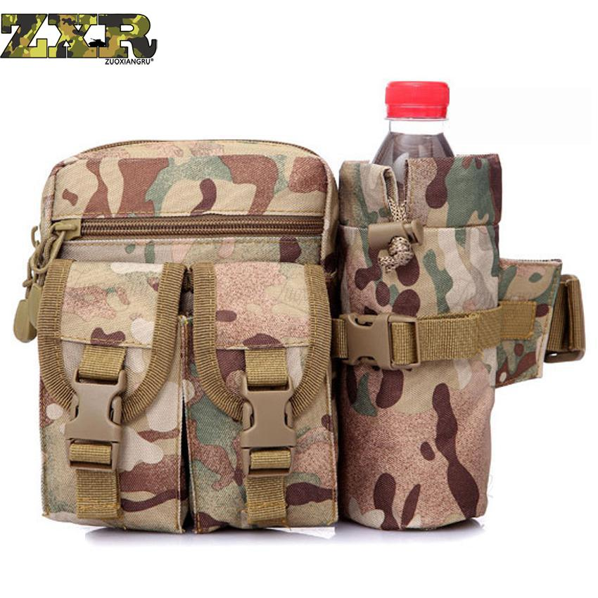 Outdoor Camouflage Waterproof Sports Bag Multi-functional Military Tactical Messenger Pack Hiking Camping Oxford Shoulder Bags Climbing Bags Sports & Entertainment