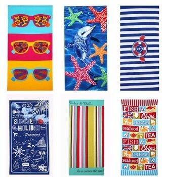 Beach Microfibre Bath Towels