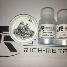 Галлий Металл 99.99% чистый, 200 грамм нетто, Changsha богатый цветных металлов Co., Ltd