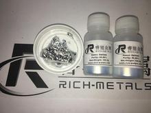 Métal de Gallium 99.99% pur, 200 grammes net, par Changsha Rich métaux non ferreux Co., Ltd
