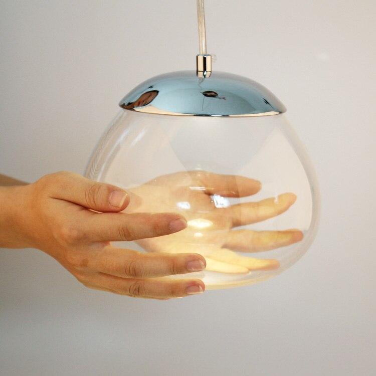 ФОТО Hot sale Modern Nordic American style persimmon LED spotlight pendant light restaurant living room lamp