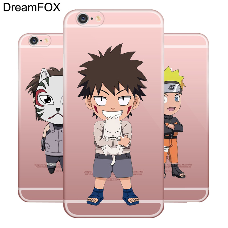 DREAMFOX L004 Anime Naruto Soft TPU Silicone Case Cover