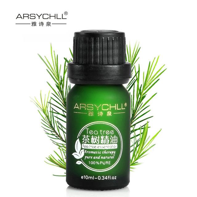 Cuidados Com a pele Óleo Essencial de Tea Tree Puro Óleos Essenciais por atacado Tratamento bactericida anti-inflamatório Da Acne Cuidados Faciais