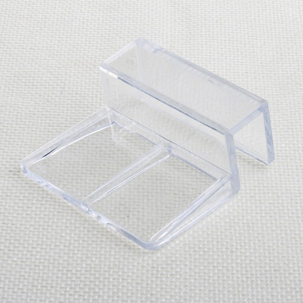 6/8/10/12mm Acrylic Aquarium Fish Tank Glass Fixed Cover Clip Clamp Bracket Holder Shelf Lamp Filter Barrel Rack Support