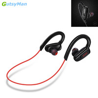GutsyMan GM08 Wireless Ear Hook Earphone Hands Free Headphone Blutooth Stereo Auriculares Earbuds Headset For Smart
