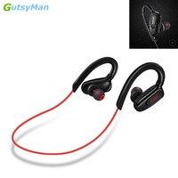 GutsyMan GM08 Wireless Ear Hook Earphone Hands Free Headphone Blutooth Stereo Auriculares Earbuds Headset For Smart