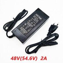 54.6 V 2A Charger 13 Serie Van Batterij Oplader 48V 2A Constante Stroom Constante Druk Is Vol zelf Stop