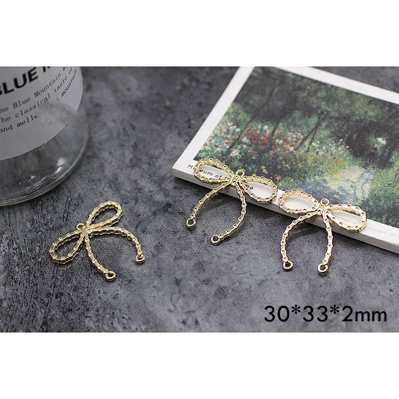 8pcs Earrings Diy Jewelry Accessories Handmade Materials Color Retaining Alloy Pendant in Jewelry Findings Components from Jewelry Accessories
