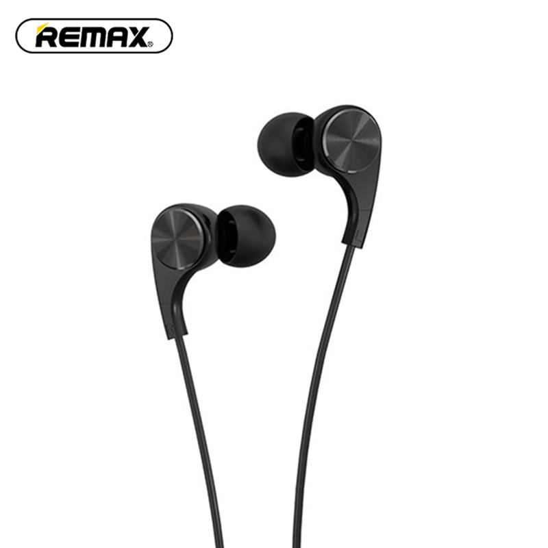REMAX Professional In-Ear RM-569 Metal Heavy Bass Sound Quality Music Earphone Hifi Audio Brand Headset fone de ouvido cafele professional in ear earphone metal heavy bass high fidelity sound quality music earphone with microphone for mobile phone