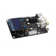ES9038q2m DAC décodeur carte de diffusion numérique OPA1612 Op pour framboise Pi décodage à I2S 32BIT 384KHZ DSD128