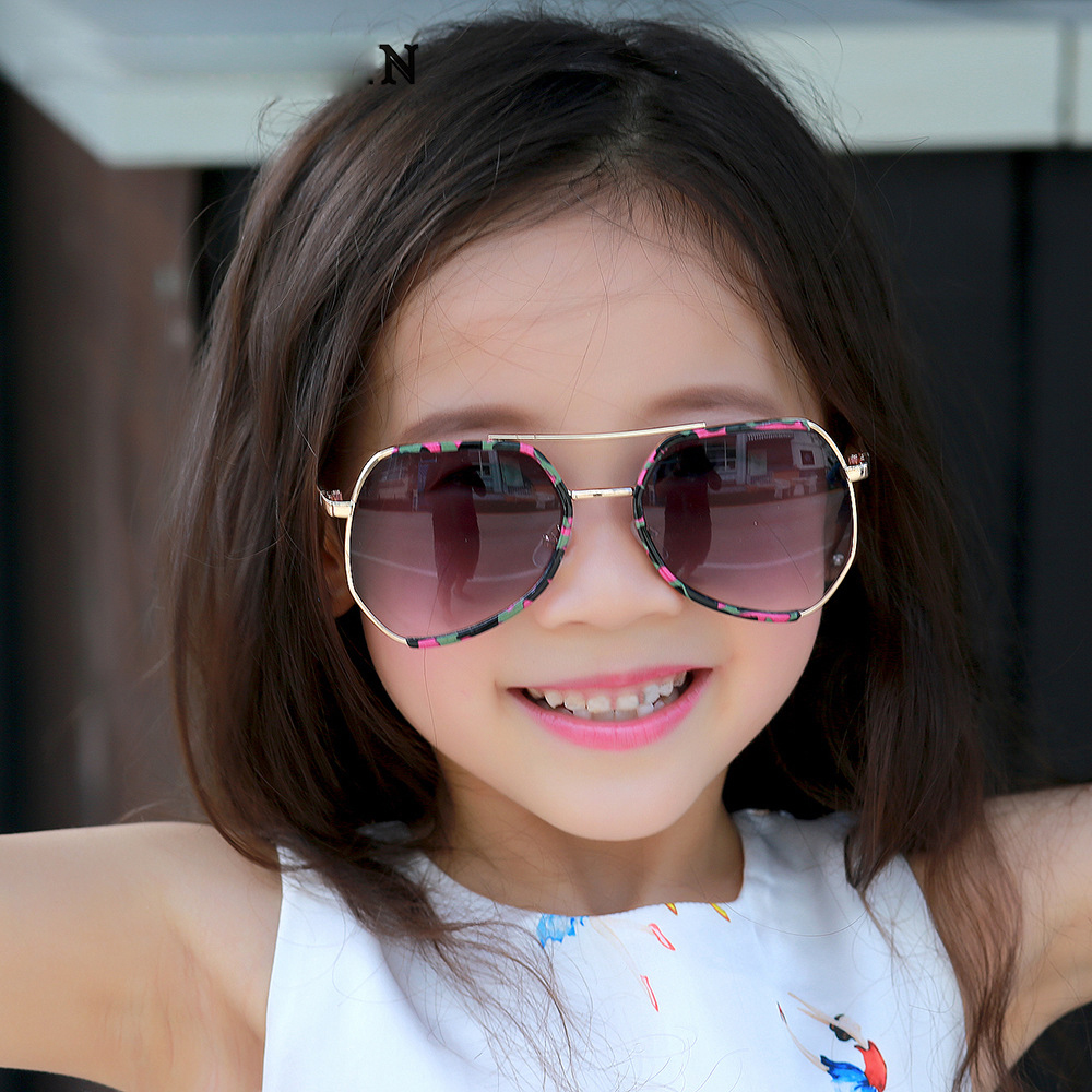 2018 cute kids sunglasses baby girls boys sunglasses brand designer