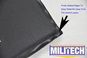 Image 4 - MILITECH 10 x 12 SC&STC Cut Pair NIJ Level IIIA 3A Aramid Soft Armour Ballistic Panel BulletProof Plate Inserts Body Armor