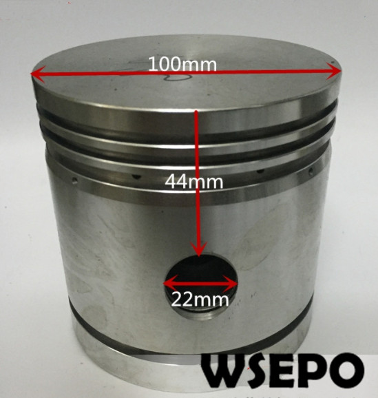 Quality Pneumatic Tools Parts! Piston(With Diameter 100mm) fits for JC 100 Piston Type Air Compressor