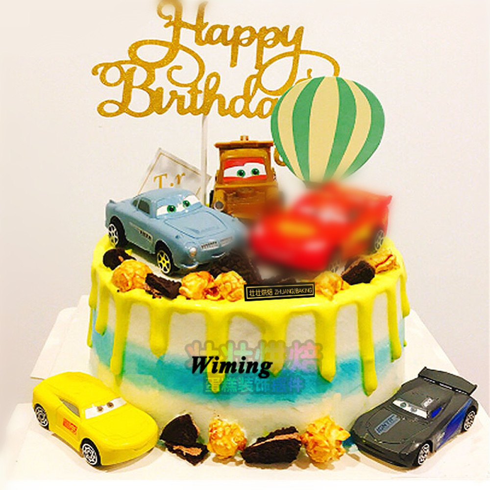 Amazing Car Toys For Children Cupcake Toppers Cake Decorating Kids T Funny Birthday Cards Online Aeocydamsfinfo