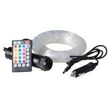 Maykit 3 м PMMA волоконно-оптический Звездный потолочный светильник с подсветкой 6 Вт RGB светодиодный светильник осветитель для крыши автомобиля