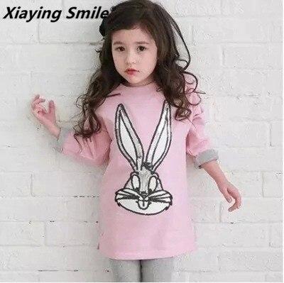 Bébé vêtements enfants o-cou à manches longues T-Shirt enfant logo vêtements mode all-match décontracté confortable