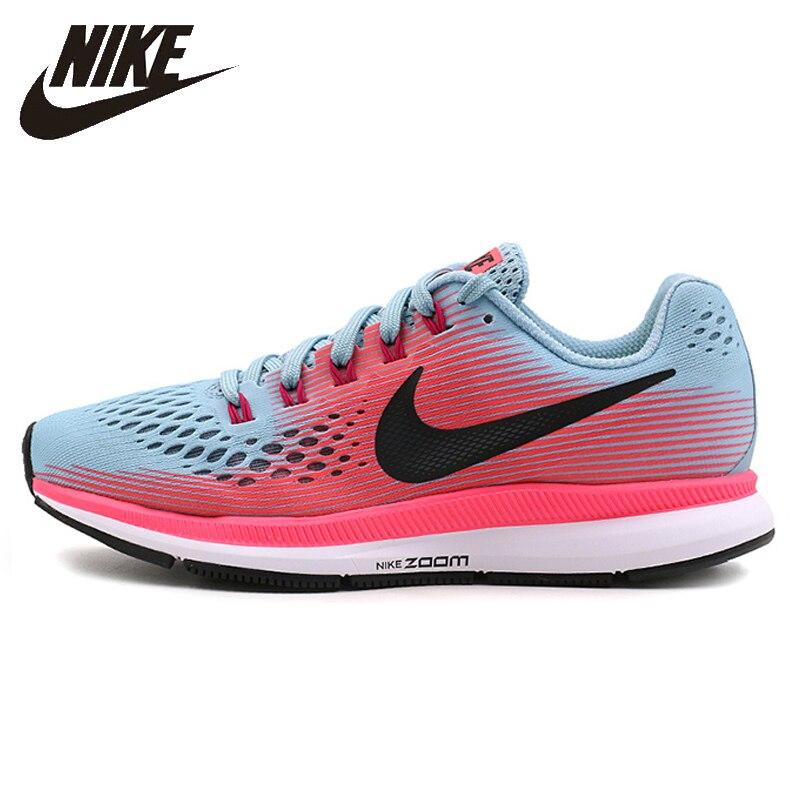 Nike Nuovo Arrivo ZOOM AIR PEGASUS 34 delle Donne Runningg Scarpe Leggero E Traspirante di Buona Qualità Scarpe Da Ginnastica 880560-406